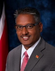 Minister of Agriculture, Land and Fisheries - Senator the Honorable Clarence Rambharat