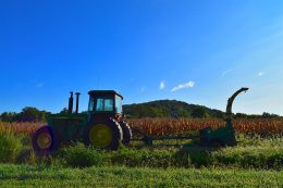 Rural Tractor Field Agriculture Equipment Farm