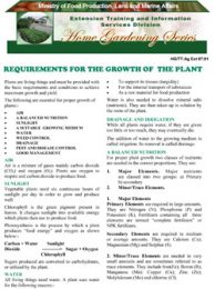 requirements-for-the-growth-of-plants