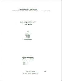 land aquisition act