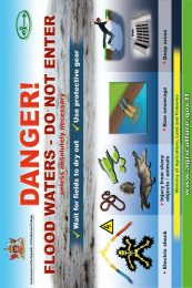 3. DANGER-Flood Waters – DO NOT Enter poster-2019-r47