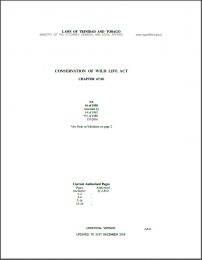 Conservation of Wild Life Act -67.01