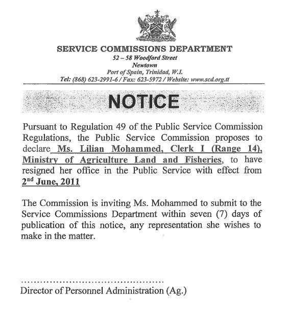 notice-service-commission